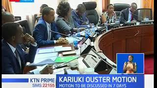 Mandera North MP Bashir Abdullahi moves motion to impeach CS Sicily Kariuki over KNH saga