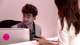 Дэниел Рэдклифф, Daniel Radcliffe Was Our Receptionist for an Hour