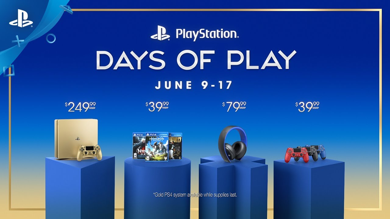 A Thank You to All Our Fans: New Gold PS4, 9 Days of Epic Deals