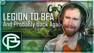 "Asmongold Reacts to ""Legion to BfA - Final Thoughts on the Mistakes"" by Preach"