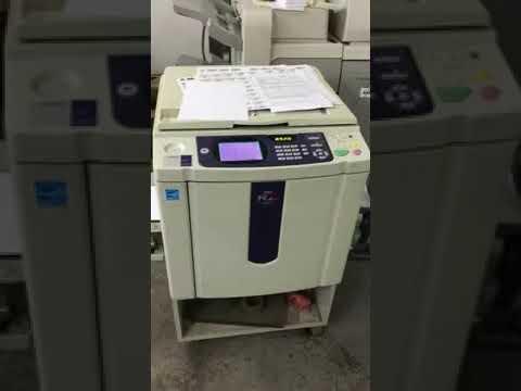 Risograph Riso Rz 970/ Rz970 Digital Duplicator