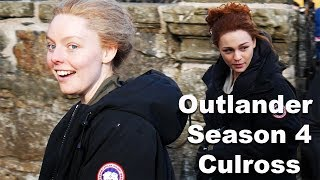 Outlander Season 4 Filming In Culross...Brianna And Laoghaire!