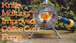 Knife Making: The Coffee Can Forge, Improved