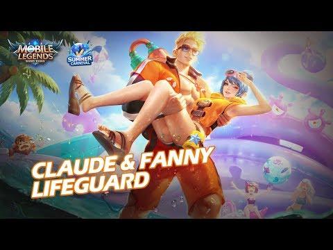 Claude & Fanny New Skin | Lifeguard | Mobile Legends: Bang Bang!
