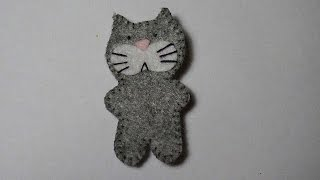 How To Make A Felt Cat - DIY Crafts Tutorial - Guidecentral