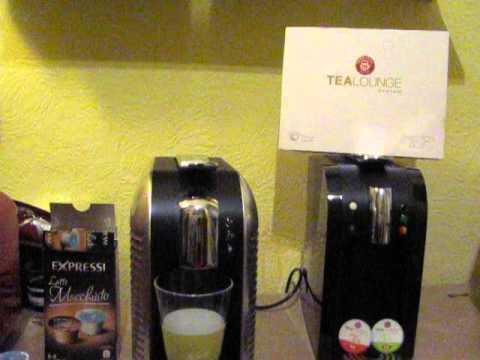 Test - Tealounge Kapseln in der Expressi Maschine K-Fee