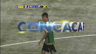 Final Score Mexico U17 51 Jamaica U17  Jamaicas goal came from Jeremy Verley