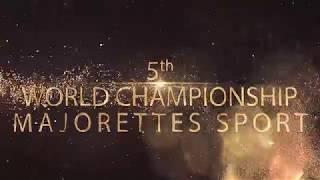 WCH Majorettes Sport 2018 - part POM & FLAG