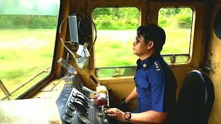 รถไฟไทย มาดูการขับรถไฟกัน ชัดแบบนี้หาดูยาก Real Train Driver
