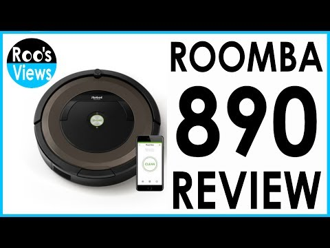 Roomba 890 Robot Vacuum Review - Does it suck?