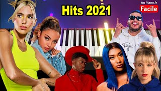 Piano Cover Hits 2021 (AuPiano.fr)