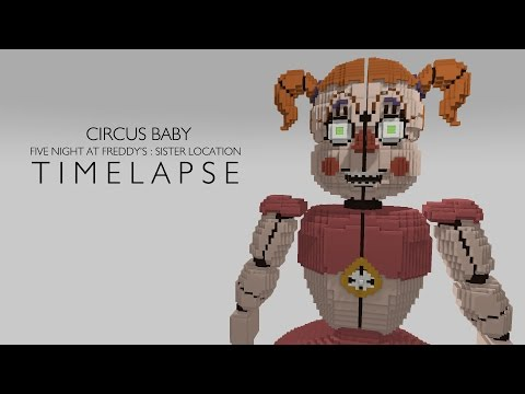 Re-Model Circus Baby ( FNAF : Sister Location ) Minecraft