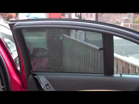 How to Fit Car Sun Blinds from www.blinds4cars com