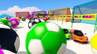 Learning Colors with Spiderman and Cars for Todlers Kids Fun Learning with Colored Cars