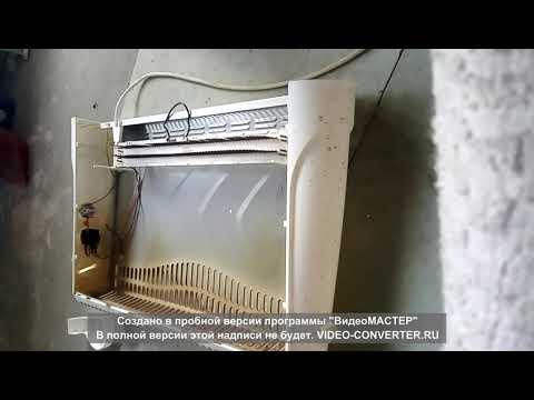 Ремонт электрического конвектора сатурн своими руками
