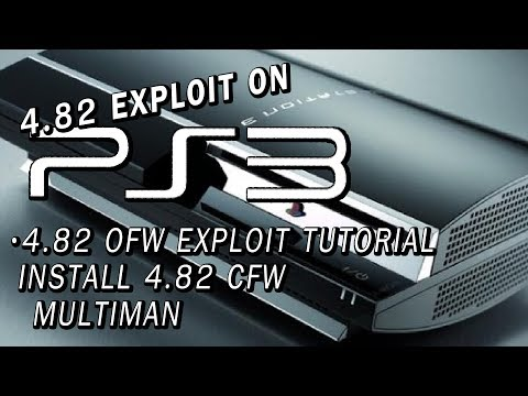 PS3 4.82 OFW Exploit Tutorial | Install 4.82 CFW! | Multiman | Many Models Supported! Mp3