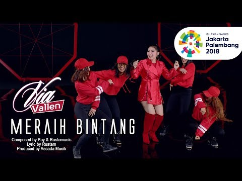 , title : 'VIA VALLEN - MERAIH BINTANG - OFFICIAL THEME SONG ASIAN GAMES 2018 (Official Music Video)'