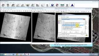 Gapfilling or Destriping Landsat 7 Image for Display Puspose - ERDAS Imagine