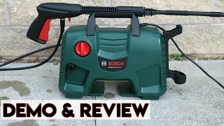 Bosch EasyAquatak 120 High Pressure Washer Review & Demonstration