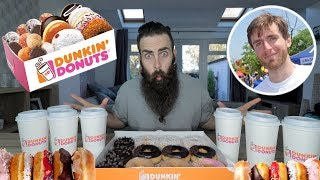 The Ultimate Dunkin Donuts Wake Up Call (Carmen Cincotti's Open Food Challenge) | C.O.B Ep.38