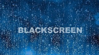 Rain Sounds BLACK SCREEN Thunder Growls Thunderstorm Sleep Relax Meditation