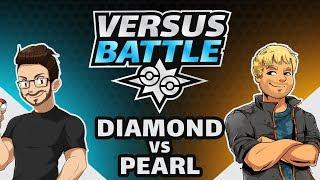 Pokemon Versus Battle | DIAMOND VS. PEARL!