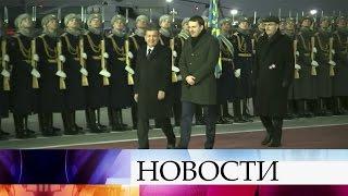 Президент Узбекистана Шавкат Мирзиеев прибыл вМоскву для переговоров навысшем уровне.