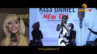 KISS DANIEL'S NEW ERA ALBUM LAUNCH... 2BABA, SOLID STAR, SEYI LAW AND OTHERS ATTEND