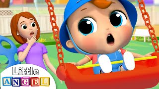 Yes Yes Playground Song   Little Angel Nursery Rhymes & Kids Songs