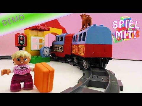 Lego Duplo Eisenbahn Starter Set - Demo - Im eigenen Zimmer verreisen