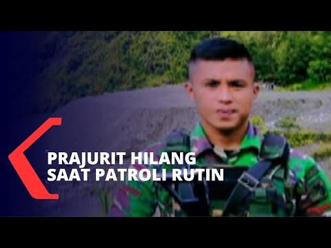 cuaca buruk ganggu pencarian prajurit tni ad yang hilang di papua