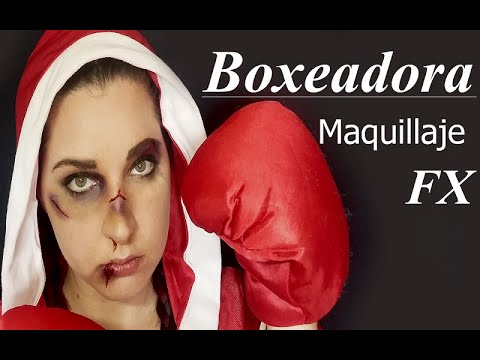 [Make up] Boxeadora - FX Makeup