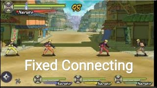 Naruto Shippuden : Ultimate Heroes 3 Multiplayer in PPSSPP (FIXED)
