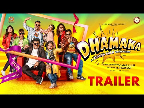 Dhamaka Official Trailer - Omar Lulu