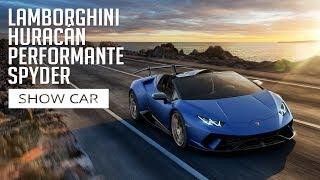 Lamborghini Huracán Performante Spyder - Show Car