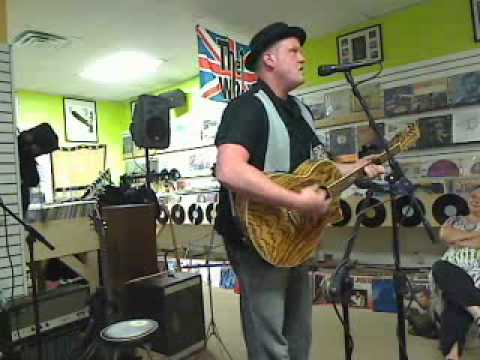 Bryan Dunaway performs at Trax on Wax open mic Aug. 9, 2011.flv