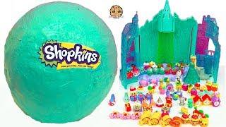 Giant Ball Shopkins Haul World Vacation Season 8 Visit Disney Frozen Queen Elsa Doll