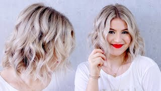 UPDATED: How To Curl Short Hair With A Flat Iron | Milabu