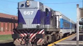 preview picture of video 'Alco RSD 39 667 saliendo de Lobos (06-04-2013)'