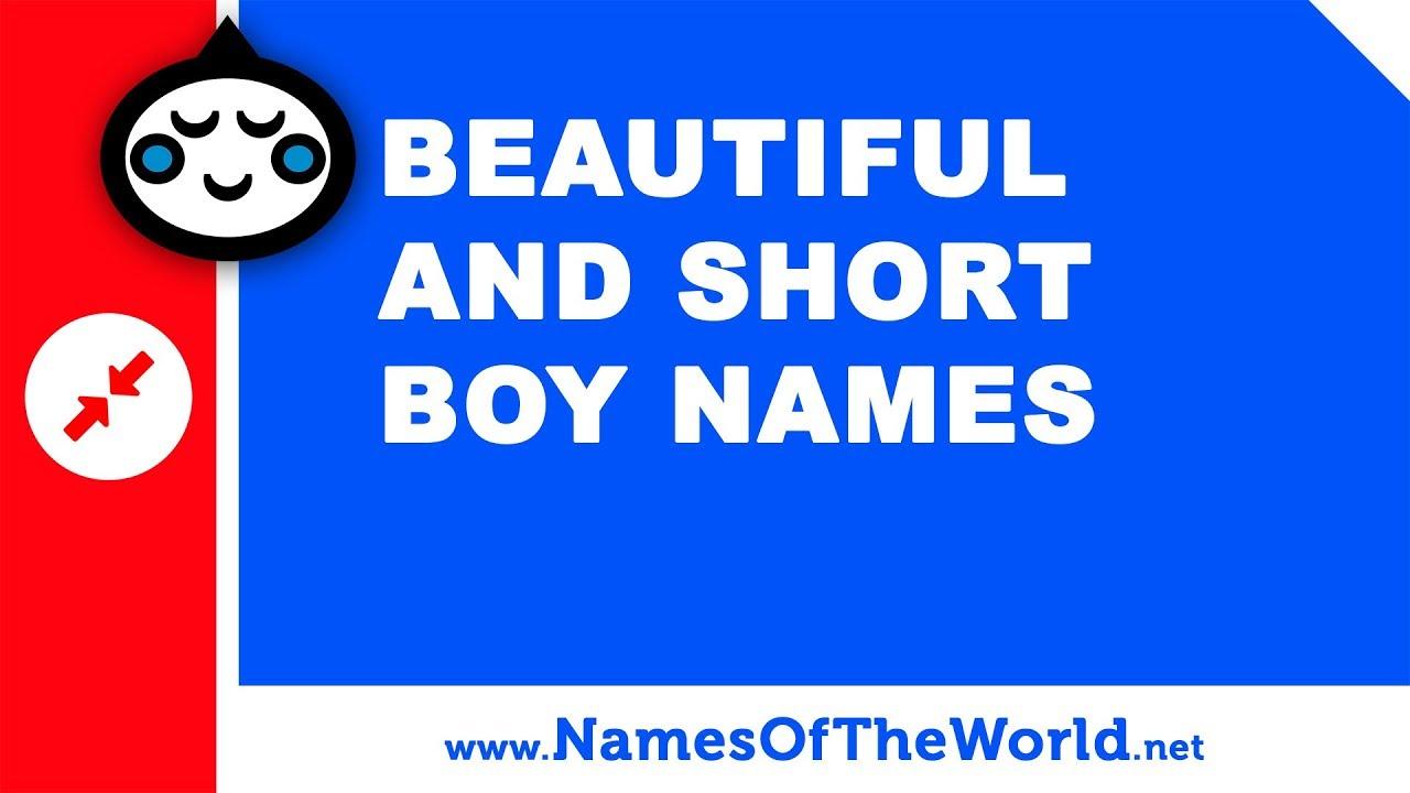 10 beautiful and short names for baby boy names - baby names - www.namesoftheworld.net