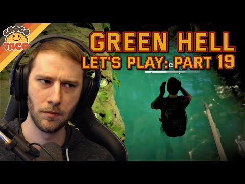 LET'S PLAY: Green Hell Part 19 - chocoTaco and Reid Green Hell Survival Gameplay