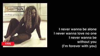 "SWEETBOX ""NEVER WANNA BE ALONE"" w/ lyrics (1998)"