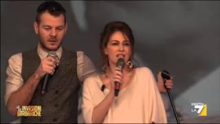 Il Lip Sync Di Elena Sofia Ricci E Alessandro Cattelan
