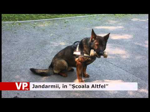 """Jandarmii, în """"Școala Altfel"""""""