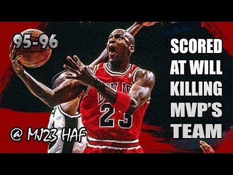 Michael Jordan Highlights vs Spurs (1995.11.22) – 38pts, Scored at WILL, Killing MVP's Team!