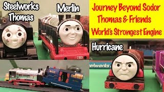 Journey Beyond Sodor New Engines - Thomas And Friends World's Strongest Engine Toy Trains