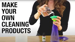 15 DIY Cleaners You Can Make Today!
