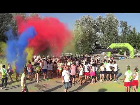Video de La II Running Colours de Villanueva Mesía
