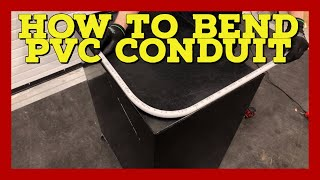 How to bend PVC Conduit - How to bend PVC with a heat gun - The Electrical Guide