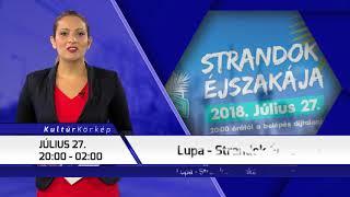 TV Budakalász / Kultúrkörkép / 2018.07.26.